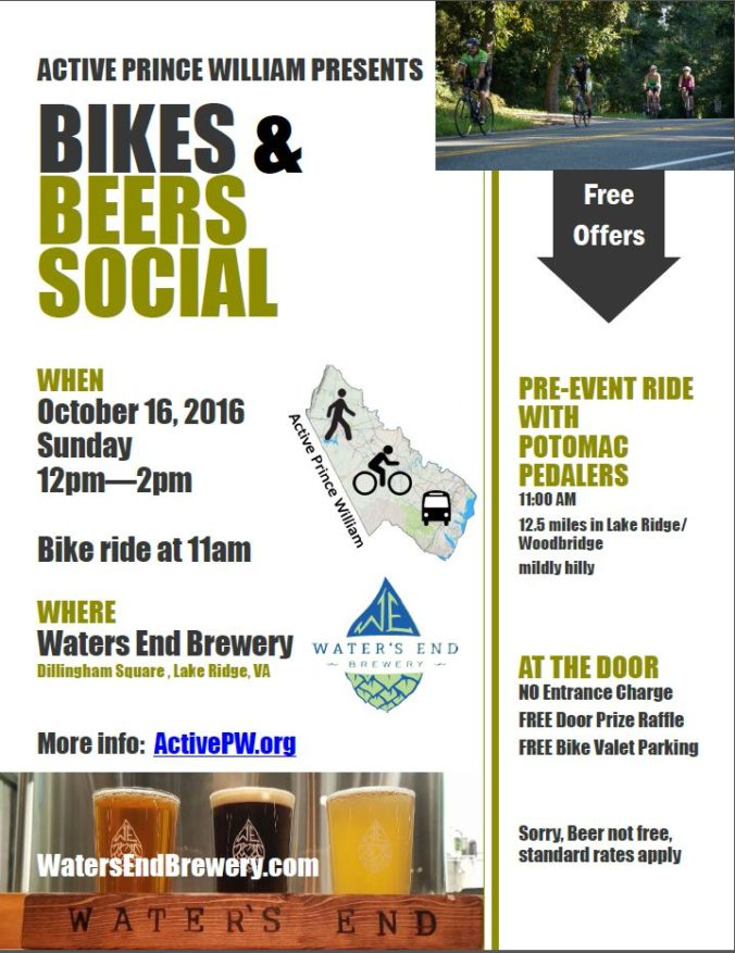 Bikes and Beers Social Flyer